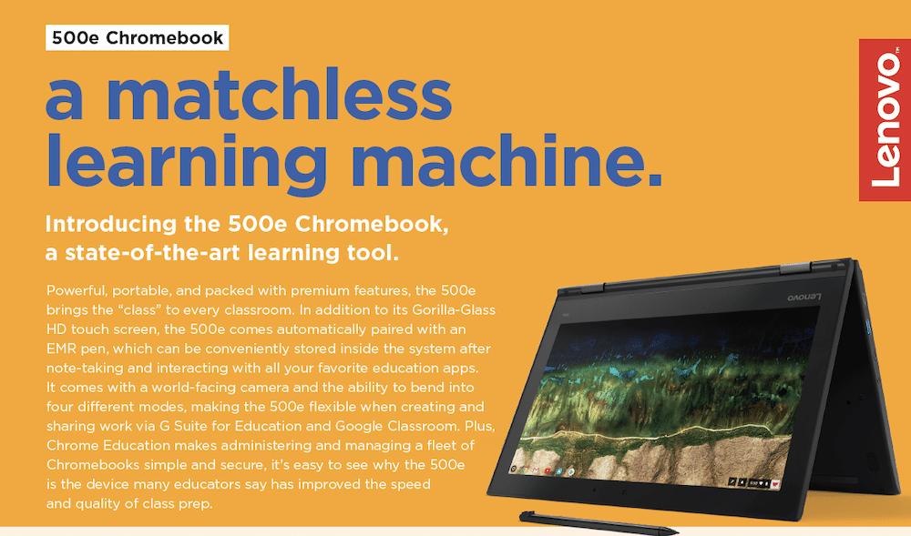 500e: Chromebook