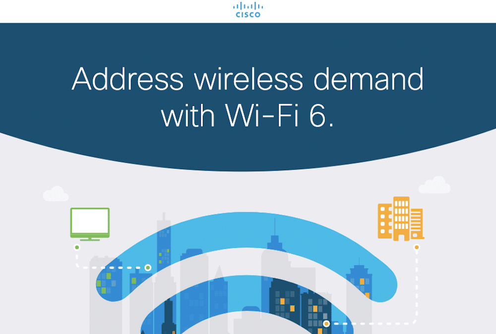 Address Wireless demand with Wi-Fi 6